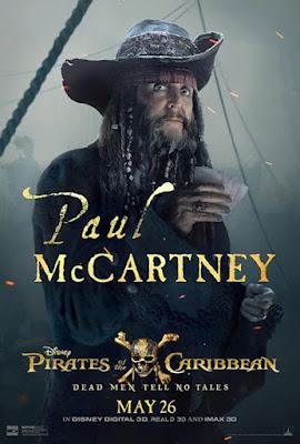Paul McCartney en 'Piratas del Caribe: la venganza de Salazar'