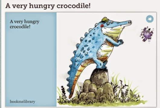A Very Hungry Crocodile!