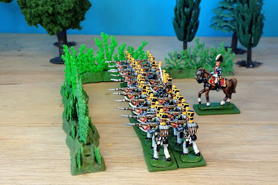 Hinton Hunt and Der Kriegspielers French Line Infantry Voltigeurs