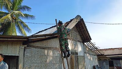 Puting Beliung Sapu Desa Layansari Gandrungmagu