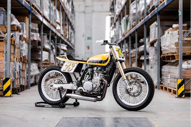 Yamaha YZ450F 1978 By Hombrese Bikes Hell Kustom