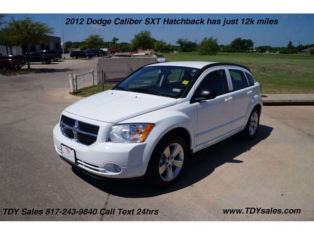 tdy sales for sale used 2012 dodge caliber sxt hatchback has just 12k miles for 15 988. Black Bedroom Furniture Sets. Home Design Ideas