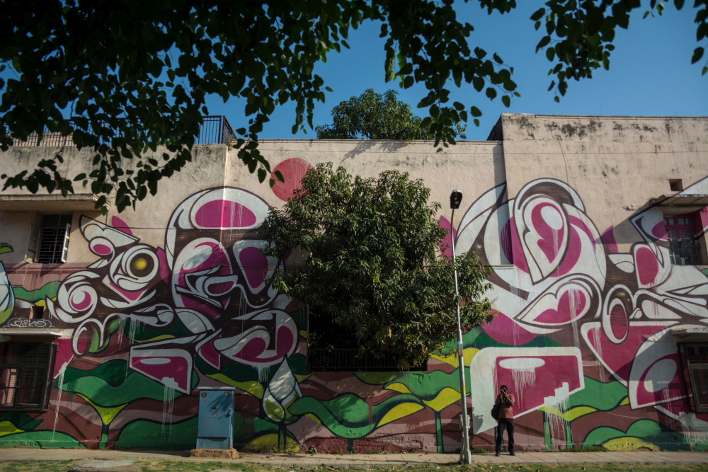 here are all the 52 pop murals at lodhi art district in delhiand below are the rest of the murals whose descriptions will be added soon