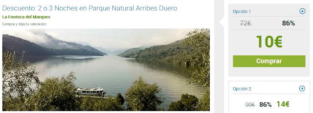 Escapada al Parque Natural Arribes en Zamora