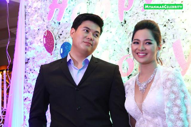 Moe Yu San Celebrated 25th Birthday Party at Sule Shangri-La Hotel