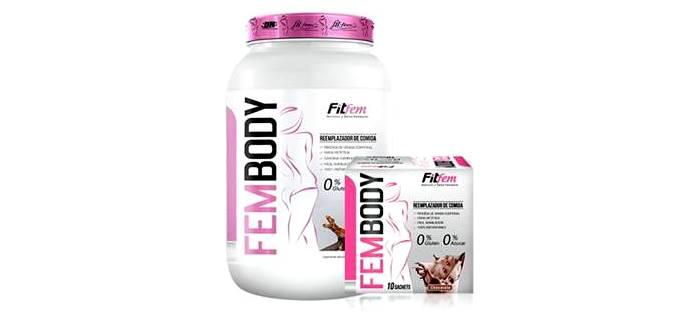 Fem Body protein para mujeres fitness que quieren tonificar sus músculos