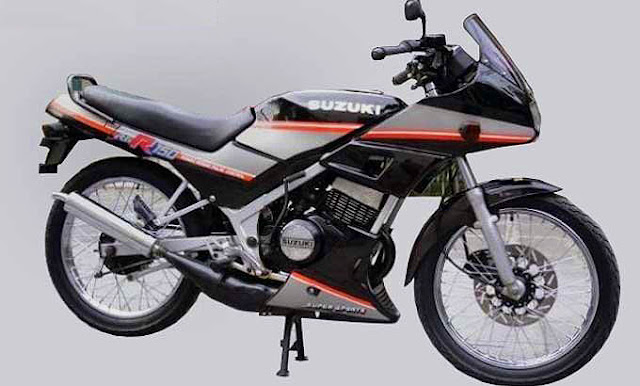 Suzuki RGR Modifikasi