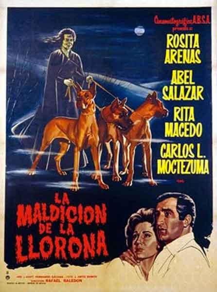 La Maldición de la Llorona, cartel original de esta película de Rafael Baledón