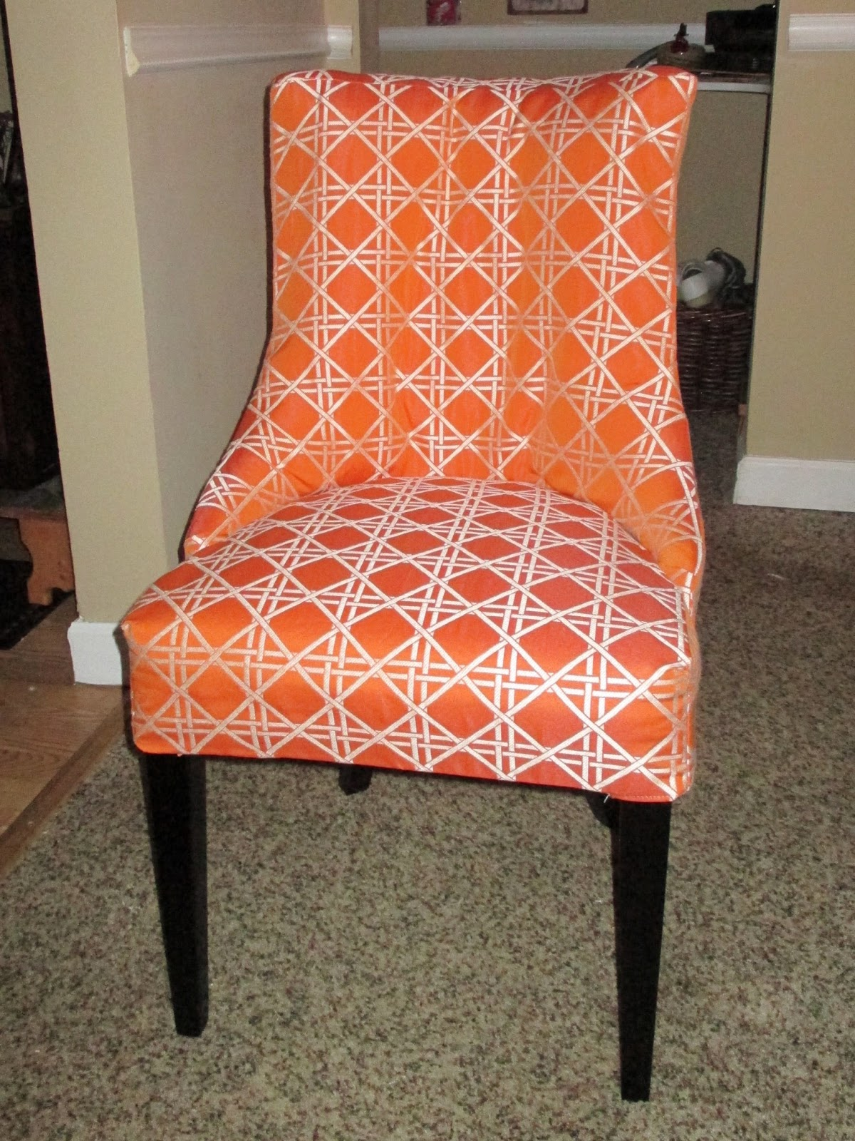 custom dining chair slipcovers office cleaning services room chairs and parson