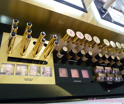 Beauty Event - Romancing with YSL (Yves Saint Laurent) Counter PVJ Make up