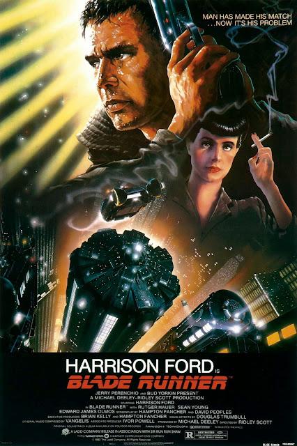Póster original película Blade Runner