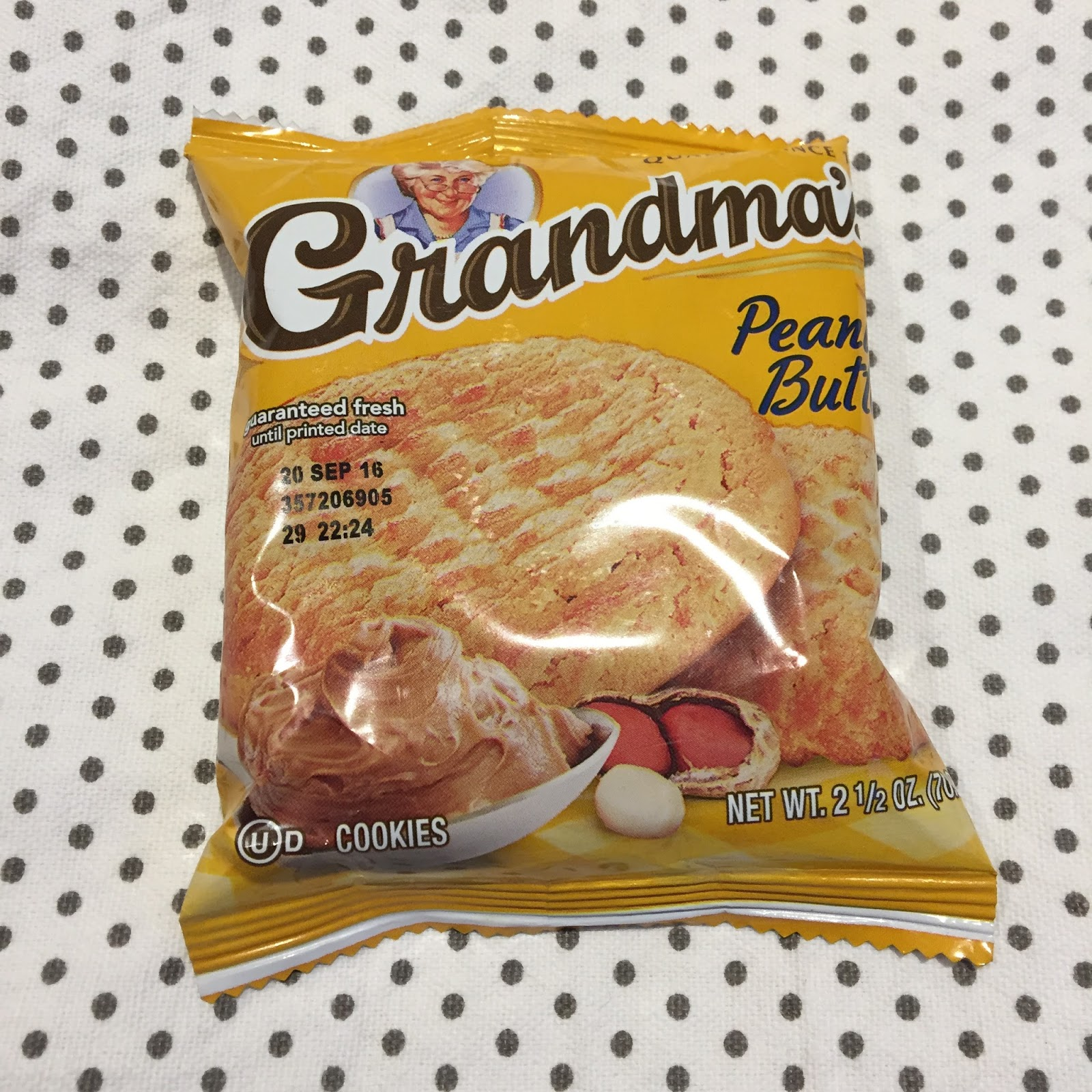 grandma's sweet peanut butter cookies With flavors like chocolate and peanut butter, every grandma's treat is baked   cinnamon, natural and artificial flavors, butter esters, sweet cream, eggs,.