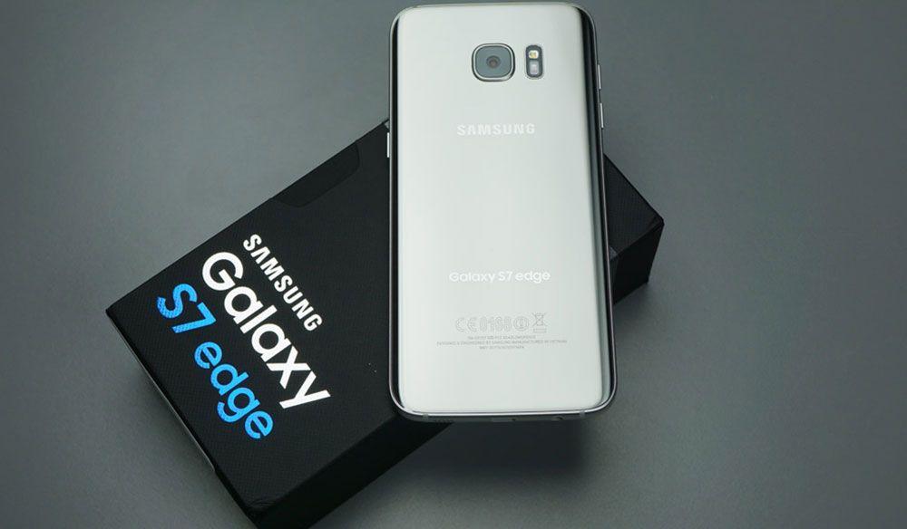 Galaxy S7 Edge 400 Tonluk Ağırlık ile Pres Makinesinde İncecik Oluyor