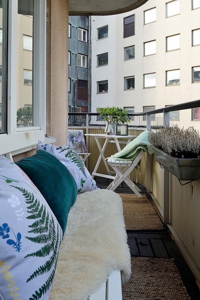 ideas para decorar un piso de alquiler- terrazas-balcones
