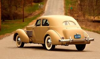 1937 Cord 812 Beverly Sedan Rear