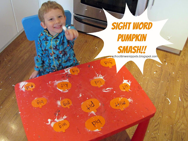 sight words pumpkin game