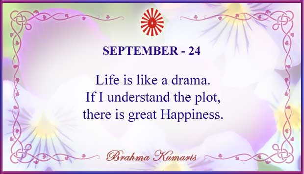 Thought For The Day September 24
