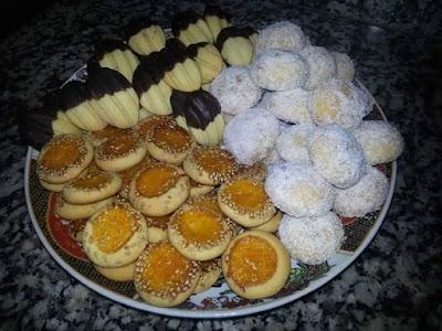 حلويات مغربية تقليدية