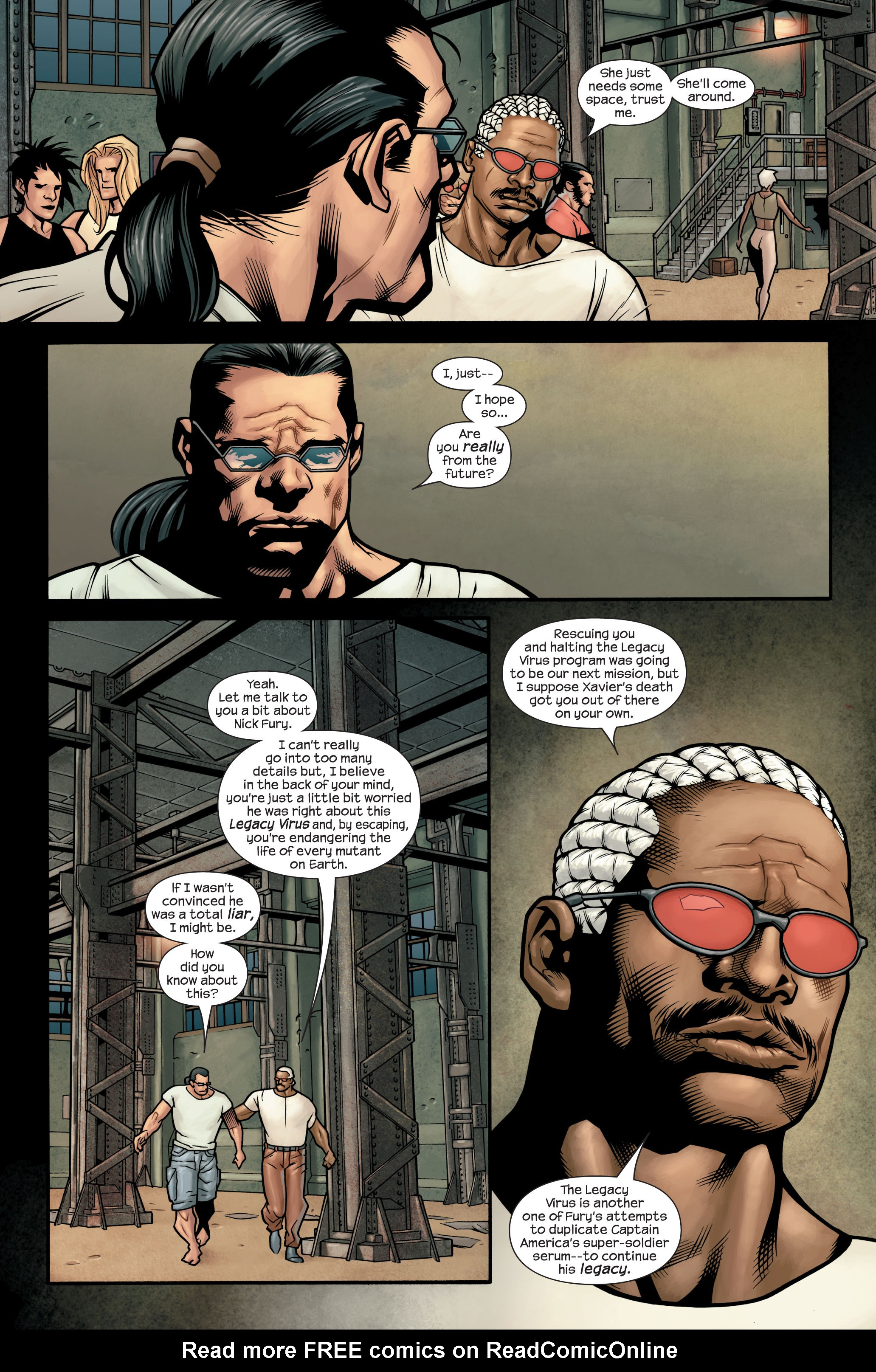 Read online Ultimate X-Men comic -  Issue #88 - 11