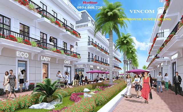 Khu phố mua sắm Shophouse Tuyên Quang