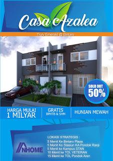 rumah dijual dekat bintaro plaza