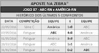 LOTECA 711 - HISTÓRICO JOGO 07