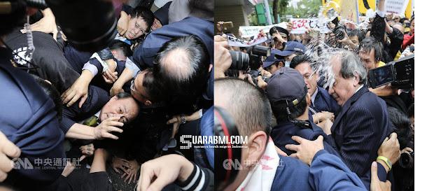 Tak Terima 7 Hari Libur Nasional Dihapus, Buruh Taiwan Demo dan Buat Kerusuhan