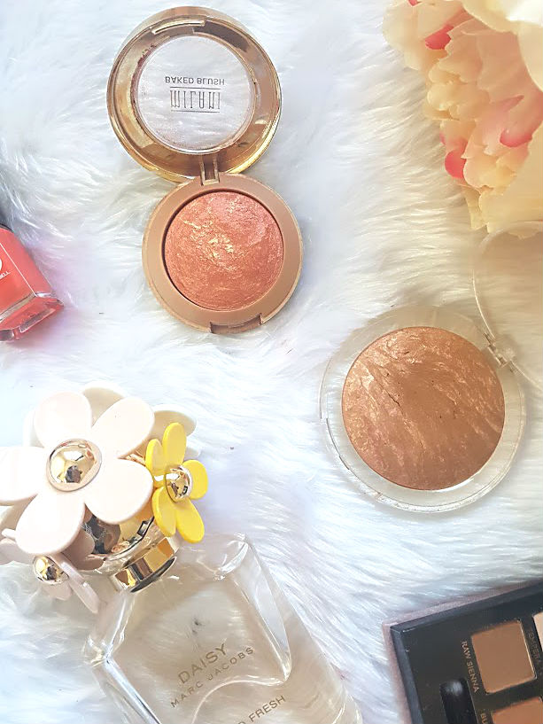 baked blush and bronzer