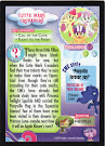 My Little Pony Cutie Mark Crusaders Series 3 Trading Card