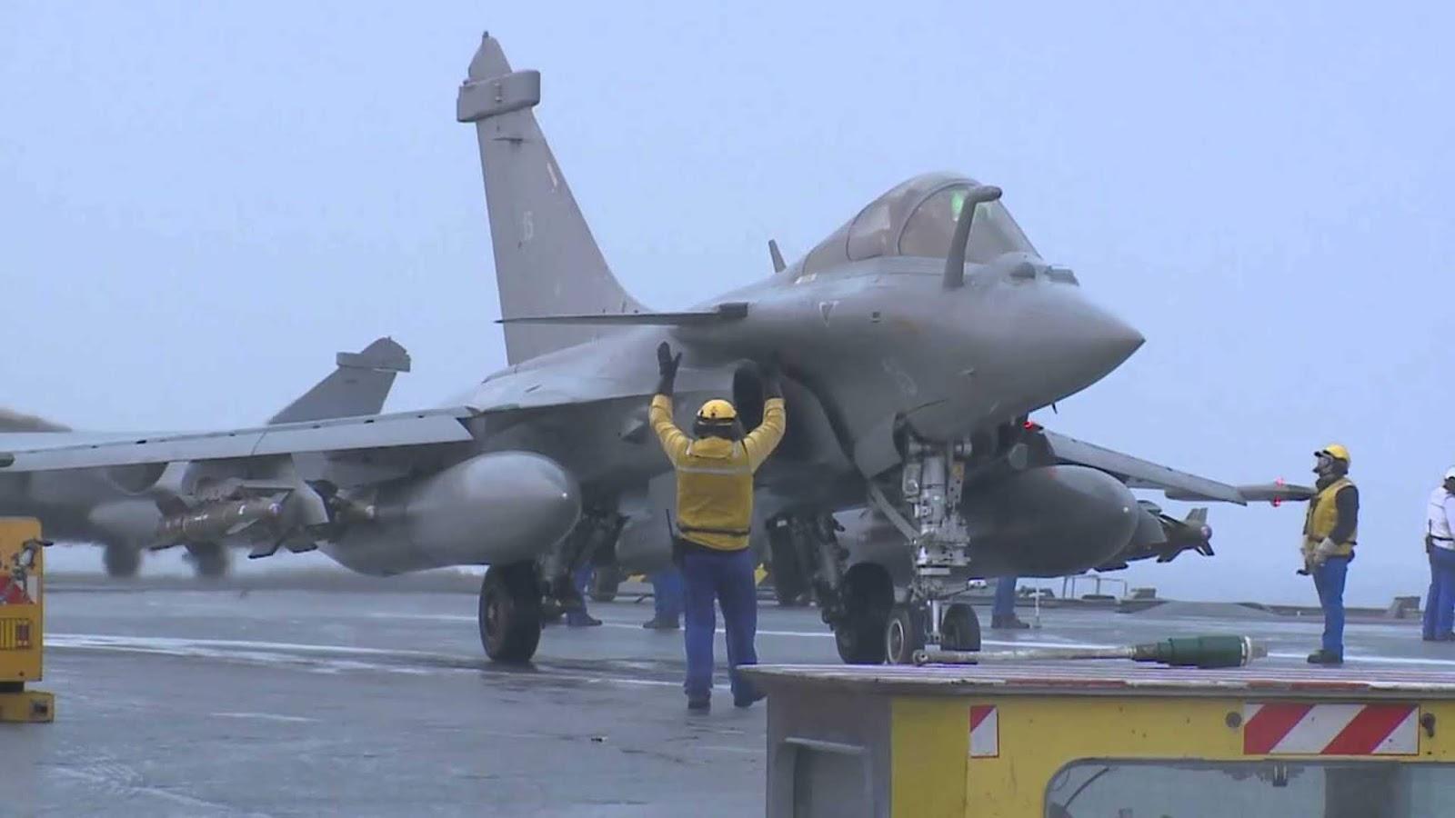 Skuadron tempur Angkatan Laut Prancis menyelesaikan transisi ke pesawat Rafale M