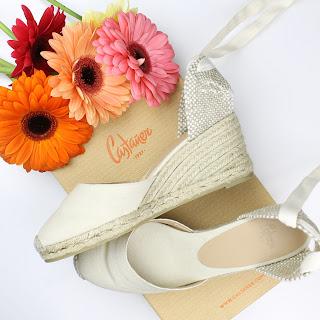 Castañer Carina Espradrilles summer shoes ivory