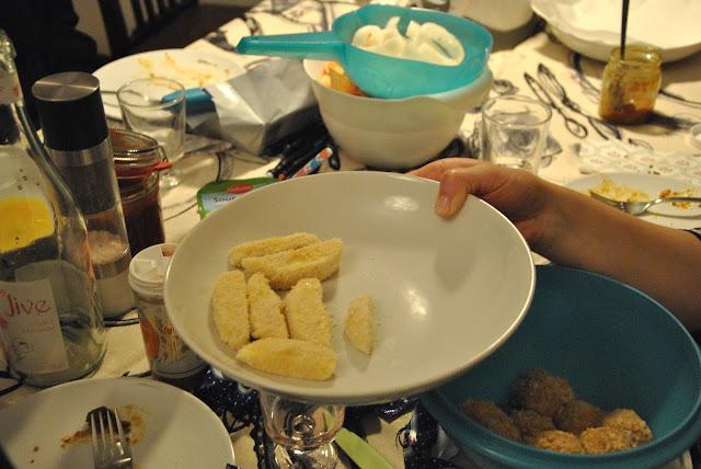 Mozzarella paniert