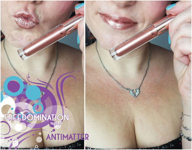 antimatter  makeup  lips mouth nabla cosmetics freedomination collection summer lipstick dreamy matte