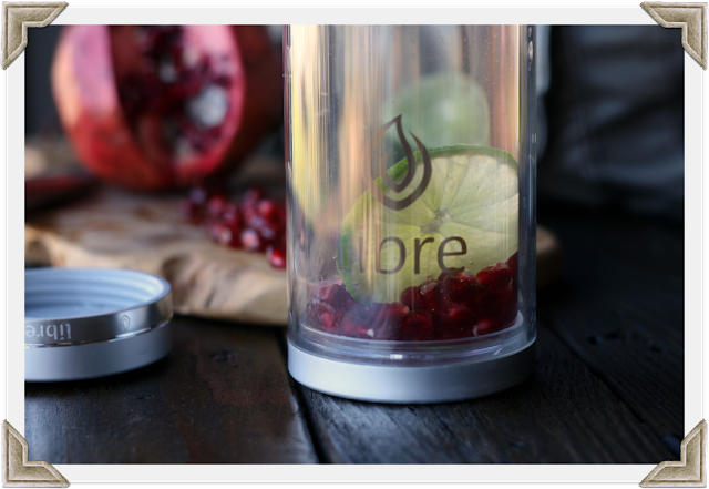 Libre Tea Glass with Infused Water