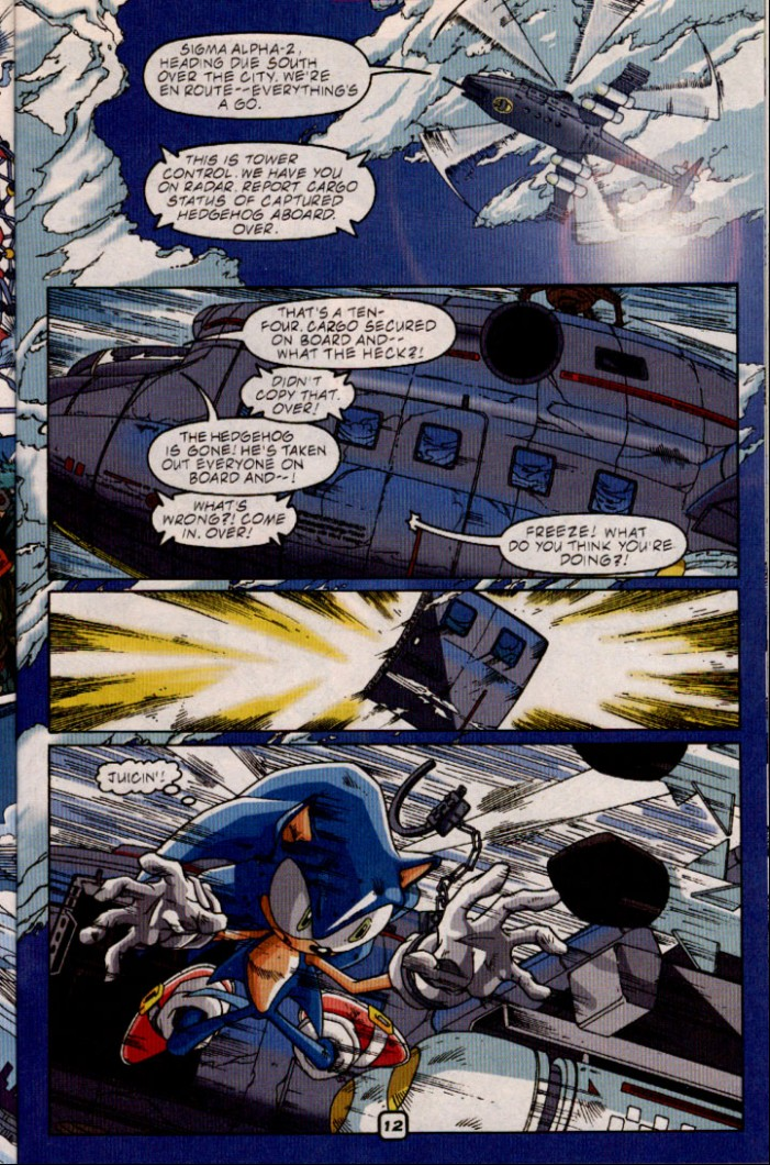 Read online Sonic The Hedgehog comic -  Issue #98 - 14