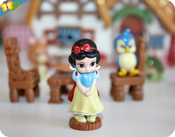 micro playset Blanche Neige Disney Animators