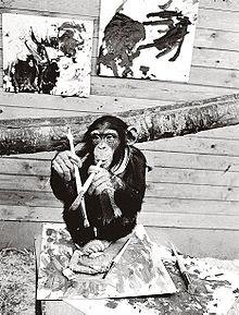Pierre Brassau +mono pintor