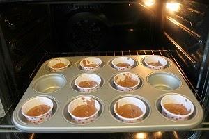 Cupcake alle castagne e cioccolato