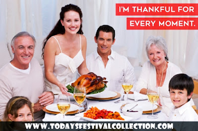 Happy Thanksgiving Day Sayings for Friends and Family