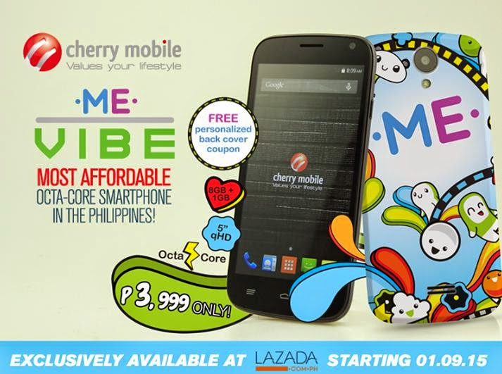 Cherry Mobile Me Vibe, The Most Affordable Octa Core For Less Than 4K