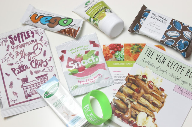 A January 2016 The Vegan Kind Box review