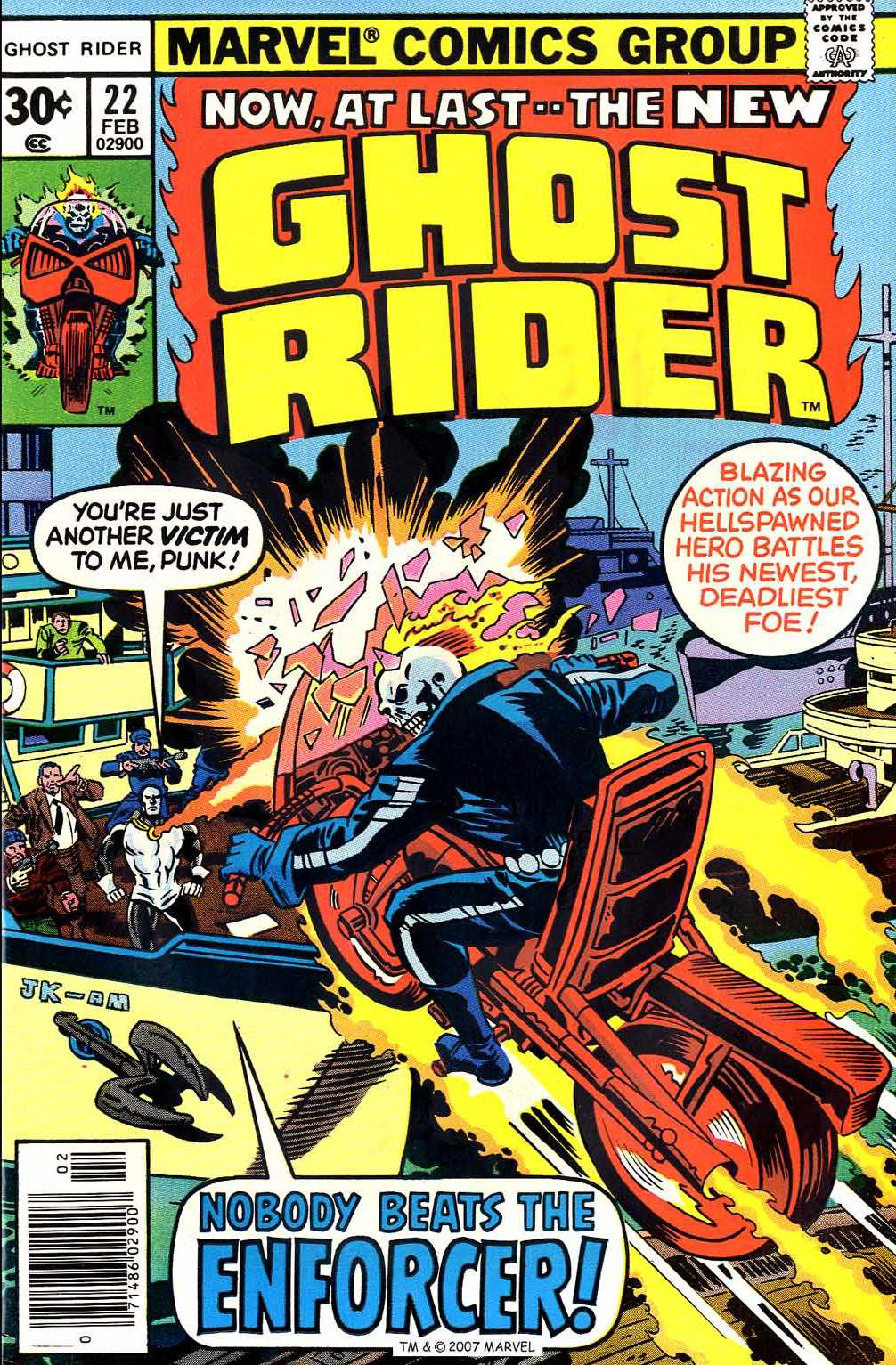 Ghost Rider (1973) Issue #22 #22 - English 1