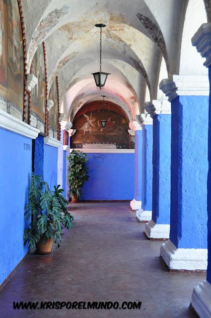 Monasterio de Santa Catalina en Arequipa, Perú