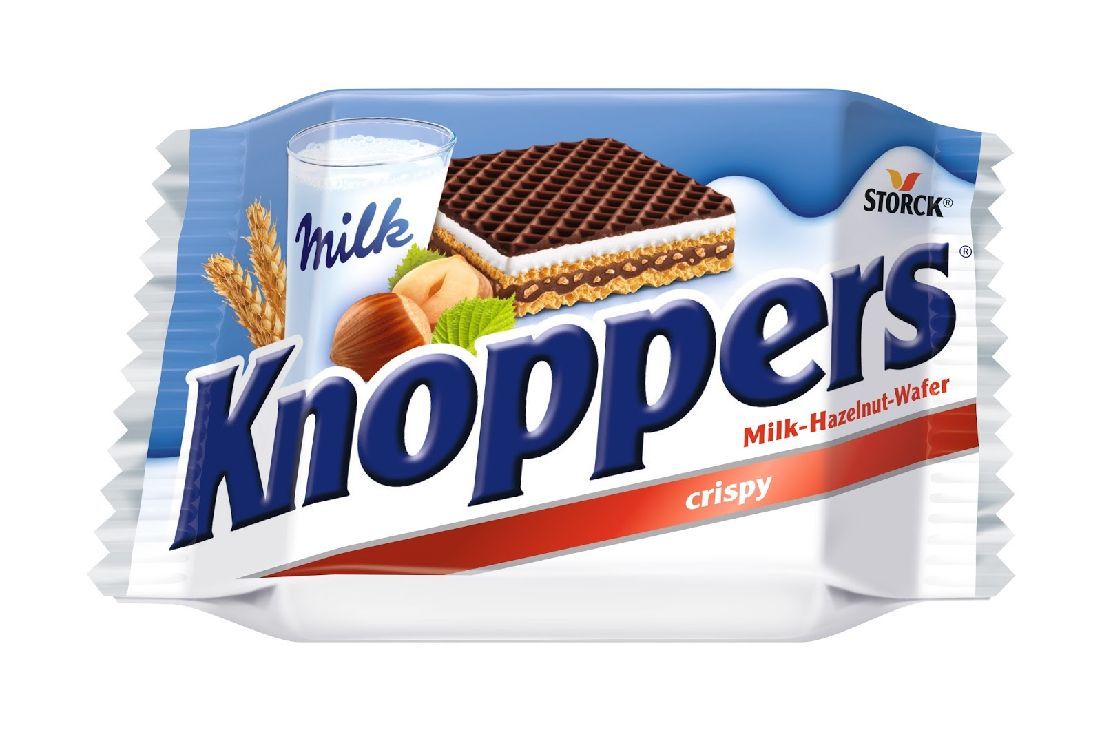 A sealed knoppers bar