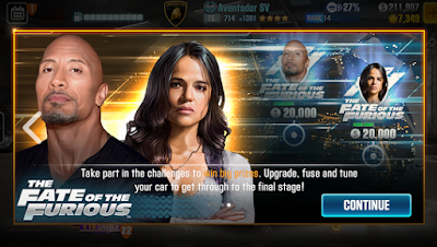 CSR Racing 2 - The Fate of the Furious
