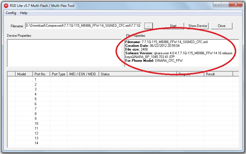 All Mobile Flash File Free Download: How to use RSD Lite