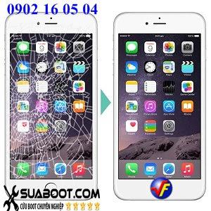 Dich vu sua va thay mat kinh iphone 6 6 plus chuyen nghiep tai Ha Noi