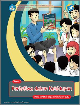 Download buku BSE pegangan guru tematik integratif kelas 5 SD MI tema 2 peristiwa dalam kehidupan