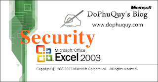 Excel security 2003