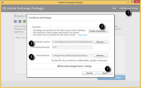 Steps to create certificate for Adobe Exchange 1
